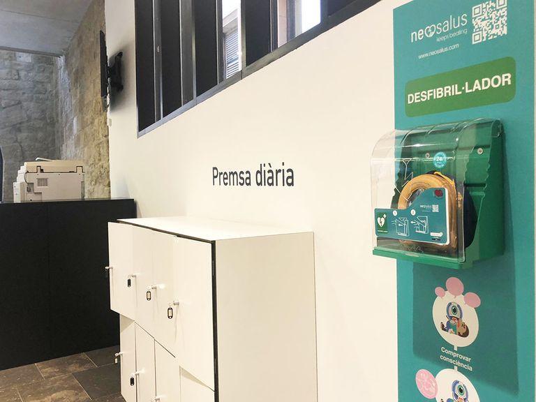 La regidoria de Salut de Solsona instal·larà adaptadors pediàtrics en tres desfibril·ladors de la ciutat