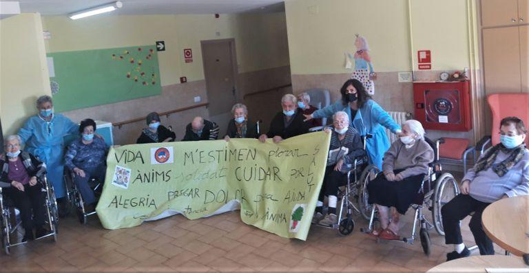 La residència de gent gran de Solsona rep el suport del Servei d'Acompanyament al Dol
