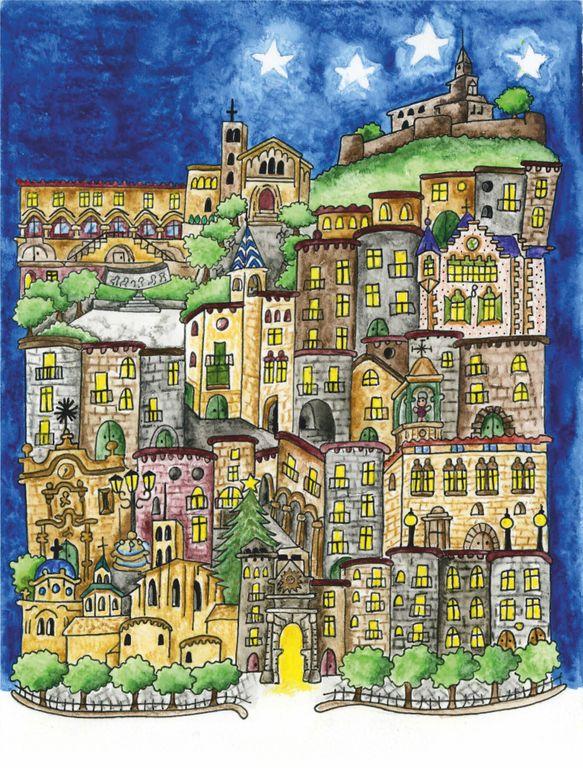 La solsonina Susanna Miravete il·lustra la portada de l'agenda de Nadal