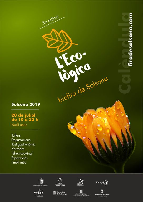 La tercera biofira L'Ecològica de Solsona arriba el 20 de juliol amb diverses novetats