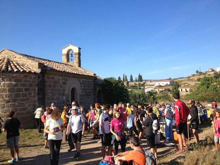 La vintena caminada popular al Vinyet de Solsona passa pel turó de Sant Bartomeu en record de Llumà