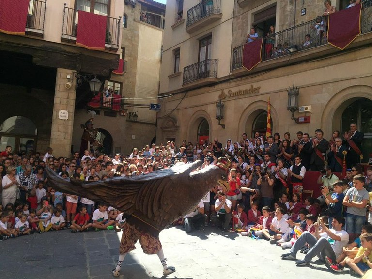 Obertes les reserves d'espai a la plaça per a persones amb mobilitat reduïda per la Festa Major de Solsona