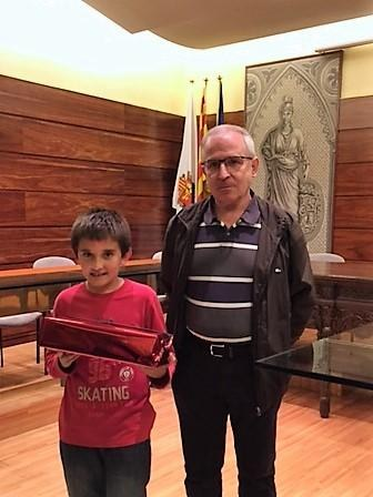 Oriol Ribó s'endú el premi del concurs del web dels infants de Solsona
