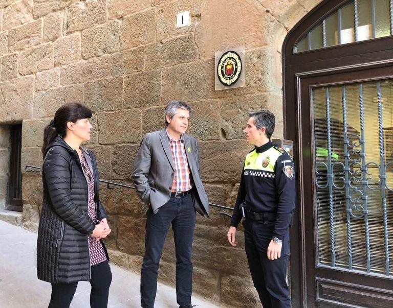 Pren possessió del càrrec el nou caporal de la Policia Local de Solsona