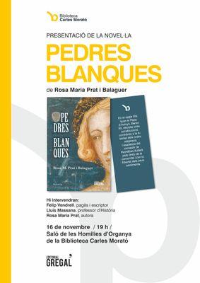 Presenten a la biblioteca solsonina una novel·la històrica protagonitzada per una dona del segle XIV