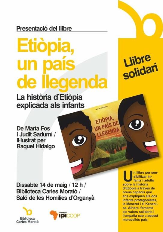 Presenten a Solsona un llibre infantil solidari sobre Etiòpia