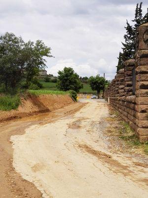 Realitzada la primera part de millora del camí del cementiri de Solsona