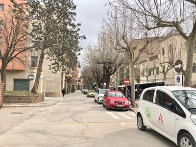 S'amplia la zona blava gratuïta del passeig del Pare Claret de Solsona