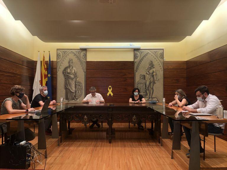 S'aprova la reestructuració del govern solsoní sense el suport de l'oposició per no fer immediat el relleu