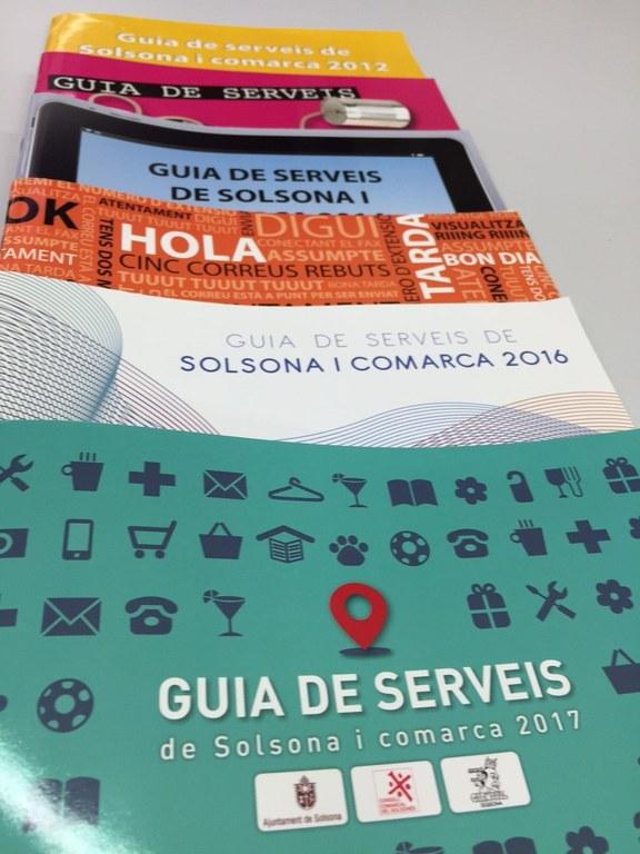 S'obre el concurs per escollir el disseny de la portada de la 'Guia de serveis de Solsona i comarca' del 2018