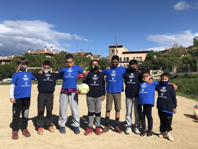 S'obren les inscripcions per a la segona edició de l'extraescolar del programa de la Fundació Barça a Solsona