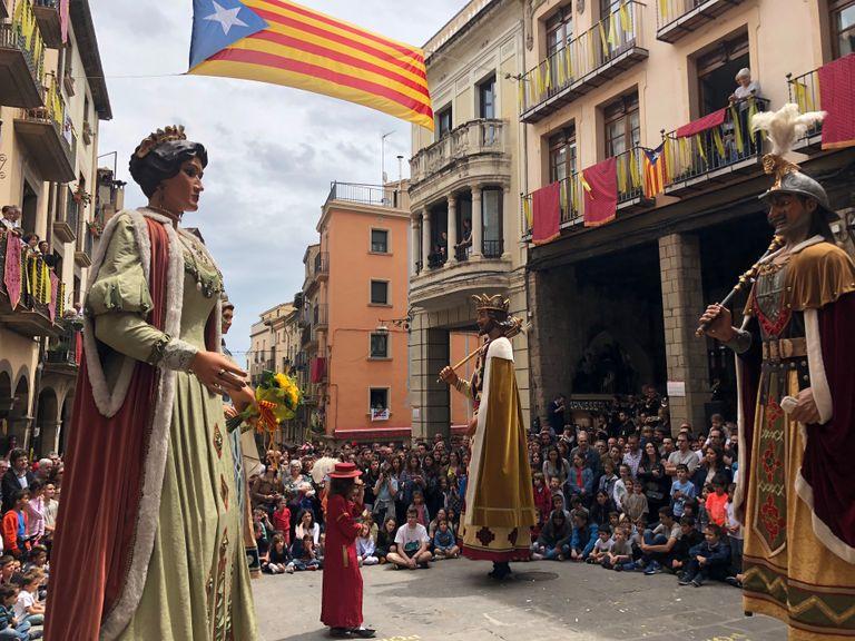 Solsona aconsegueix celebrar un participat Corpus malgrat les previsions del temps