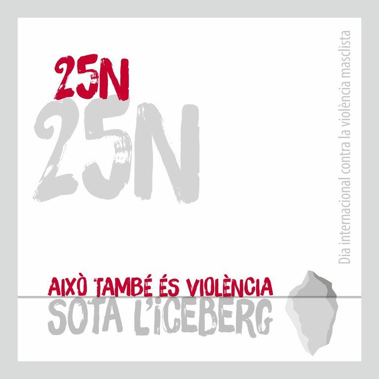 Solsona commemora durant prop d'un mes el Dia internacional contra la violència masclista