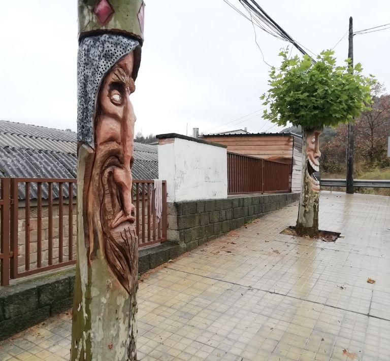 Solsona converteix en peces escultòriques arbres urbans que s'han de tallar