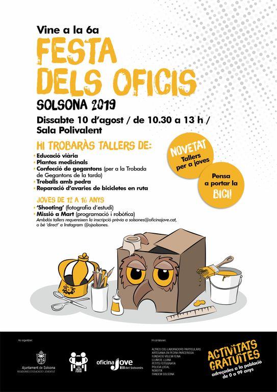 Solsona dedica una jornada a infants i joves amb la Festa dels Oficis i la Trobada de Gegantons
