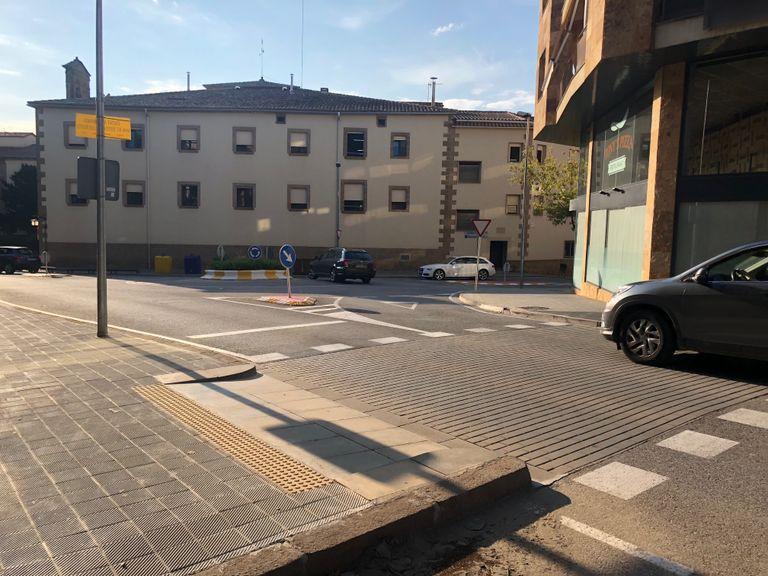 Solsona elimina les barreres arquitectòniques en el tram més conflictiu de l'avinguda del Cardenal Tarancón