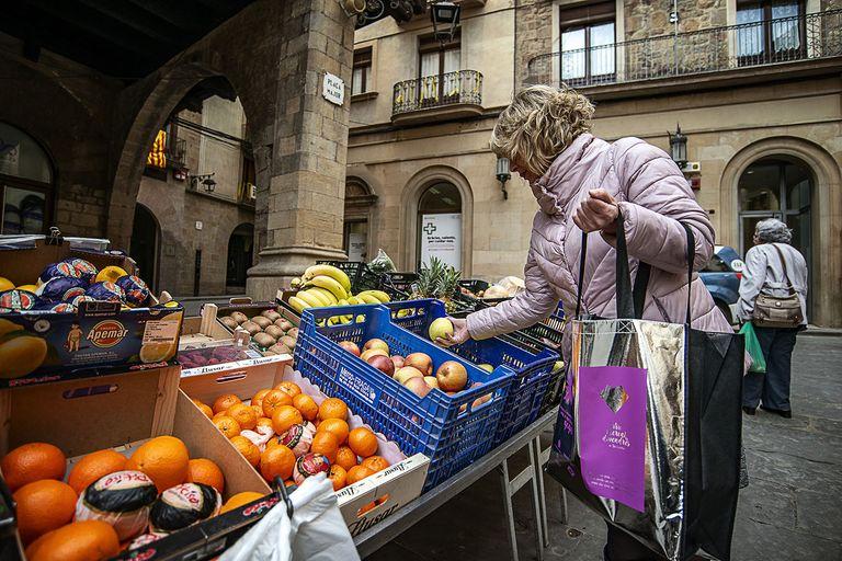 Solsona engega una campanya de promoció del mercat i el comerç local