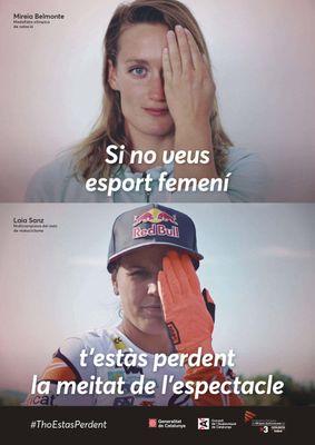 Solsona FM s'adhereix a la campanya #ThoEstàsPerdent per fomentar l'esport femení