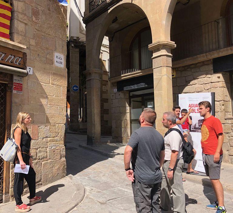 Solsona instal·la 13 punts d'accés wifi gratuït en espais públics exteriors