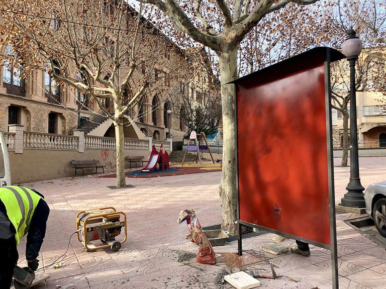 Solsona instal·la vuit cartelleres distribuïdes a diferents punts de la ciutat