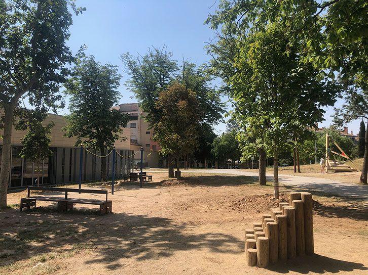 Solsona opta per la plantació d'arbres per crear ombres als parcs infantils