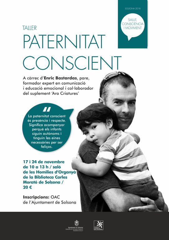 Solsona programa un taller per a homes per exercir la paternitat conscient