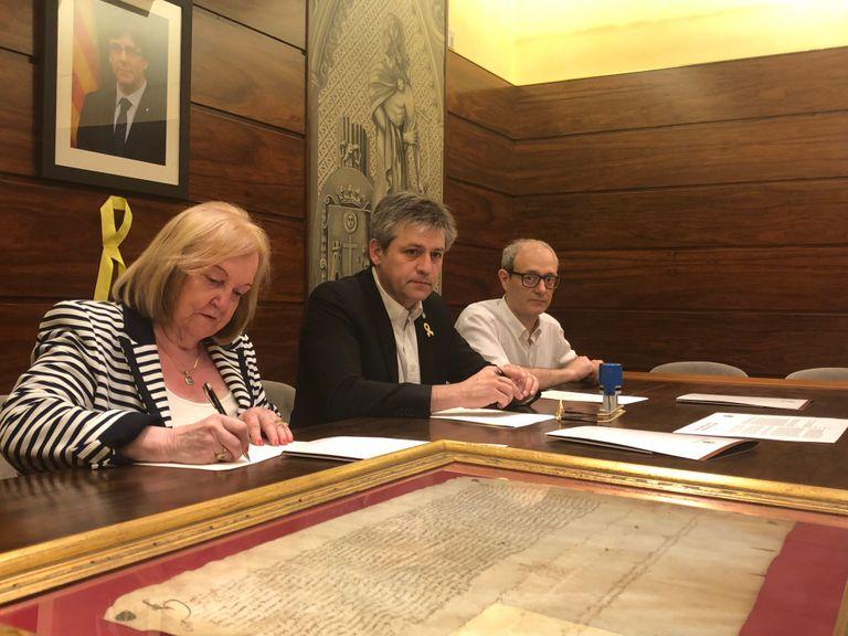 Solsona recorda el 425è aniversari del títol de ciutat aconseguint el document que ho acredita