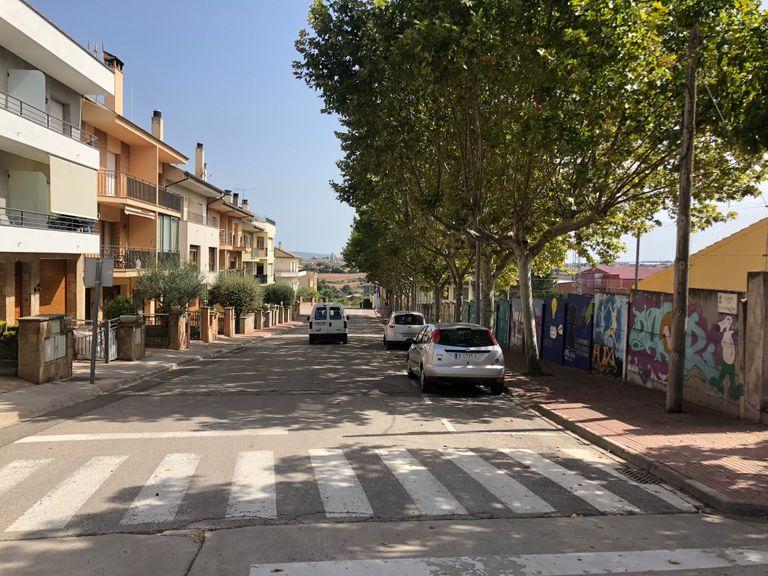 Solsona reordena la mobilitat a la zona poliesportiva per guanyar places d'estacionament i millorar la seguretat