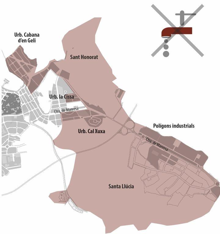 Tall d'aigua diumenge al matí a Solsona per treballs a la xarxa que permetran estabilitzar les pressions