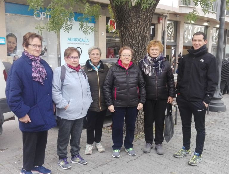Torna el grup de passeig en les activitats per a la gent gran de Solsona