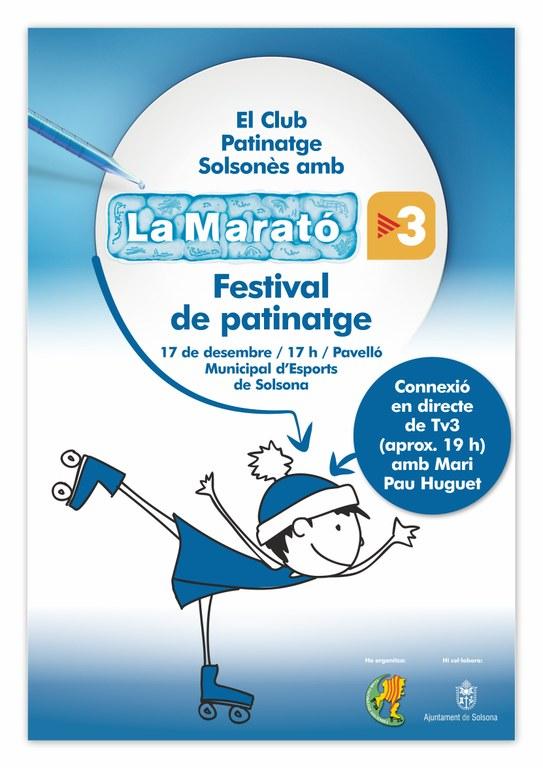 TV3 connectarà en directe amb Solsona diumenge a la tarda durant La Marató