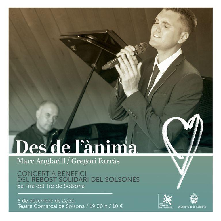 Un concert solidari de Marc Anglarill i Gregori Farràs obre la sisena Fira del Tió de Solsona
