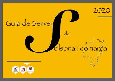 Un disseny de Tate Moreno guanya el concurs de la 'Guia de serveis de Solsona i comarca'
