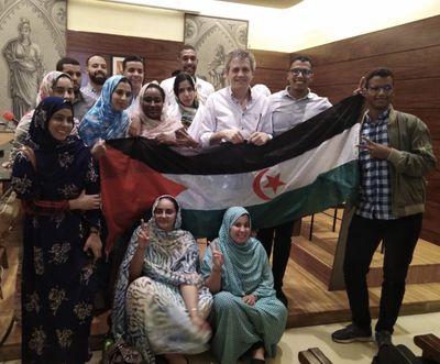 Una vintena de joves estrangers d'Erasmus+ visiten Solsona en el segon aniversari de l'1-O