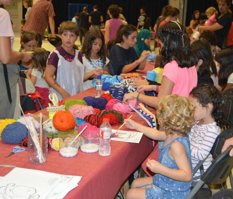 Unes 150 famílies participen a la segona Festa dels oficis de Solsona