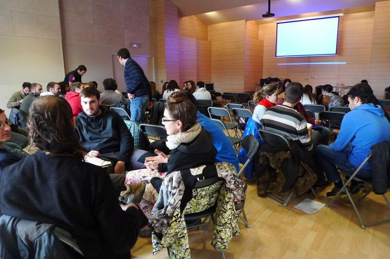 Uns 140 alumnes de cicles formatius participen a Solsona en unes jornades de foment de l'autoocupació